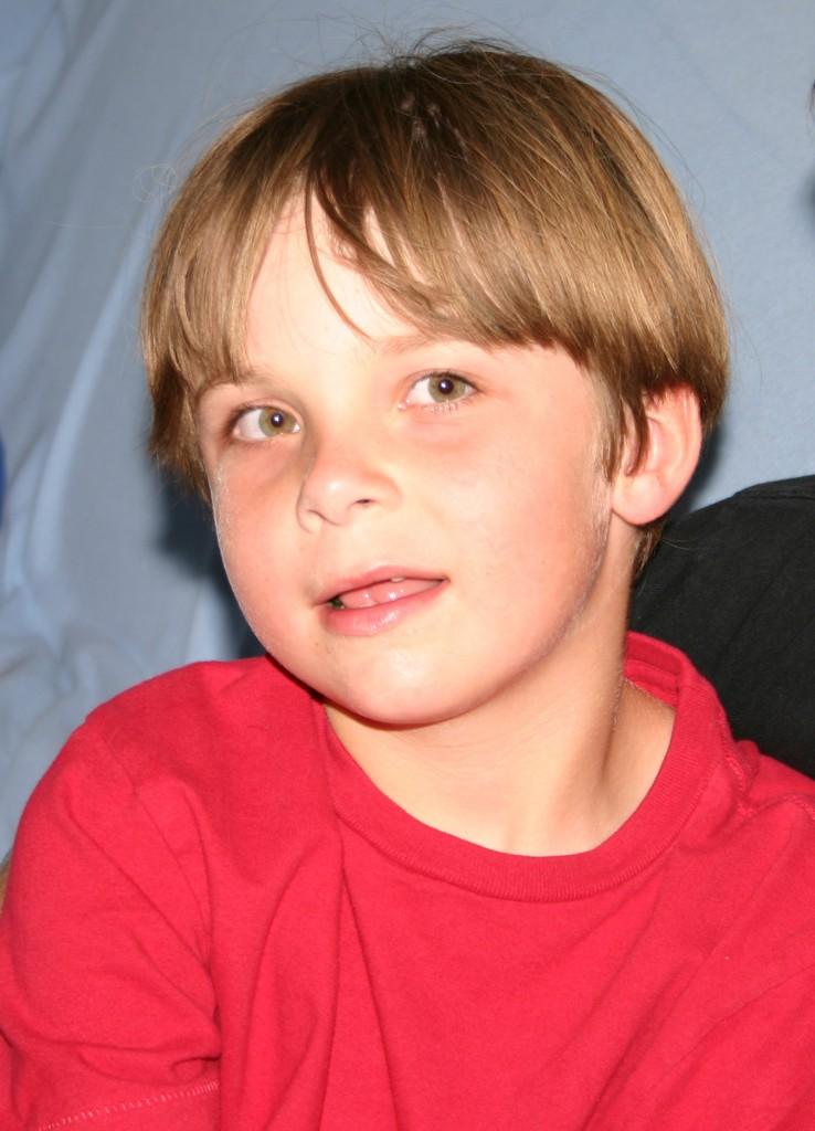 Ian smiling
