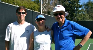 Me with Lowell and my Pops after tennis